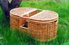 В недалеком прошлом умению плести корзины обучали в каждой семье. .  И тут оказалось, что корзинку для сбора грибов и...
